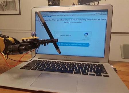 El robot que rompió la seguridad captcha de Google