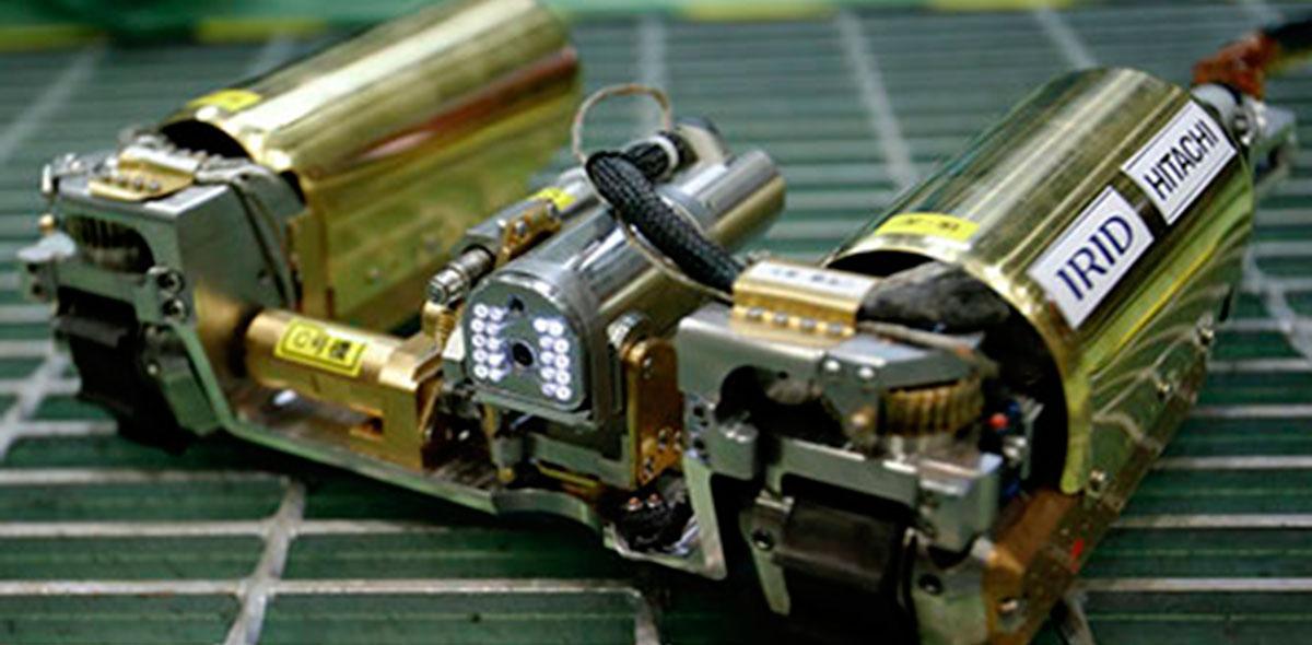 Los robots rechazan la alta tensión de la radiación
