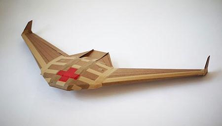 Un drone de cartón: barato e innovador
