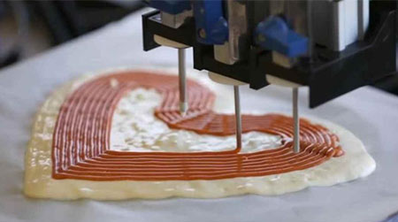 Impresoras 3D para crear pizzas por la NASA