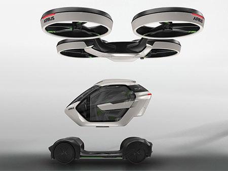 PopUp: Mitad auto y mitad drone