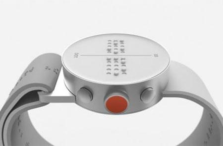 Smartwatch en braille para personas ciegas