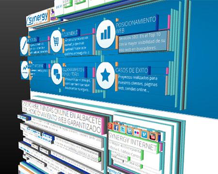 Diseño web 3D