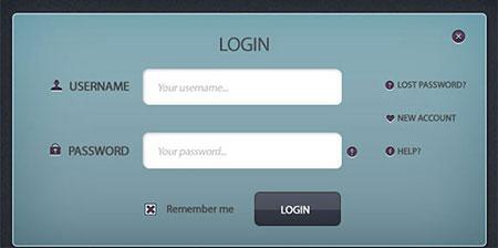 Formularios interactivos para el registro