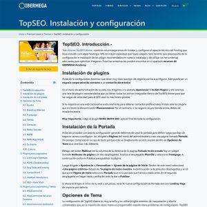 TopSEO manual de instalación y configuración.