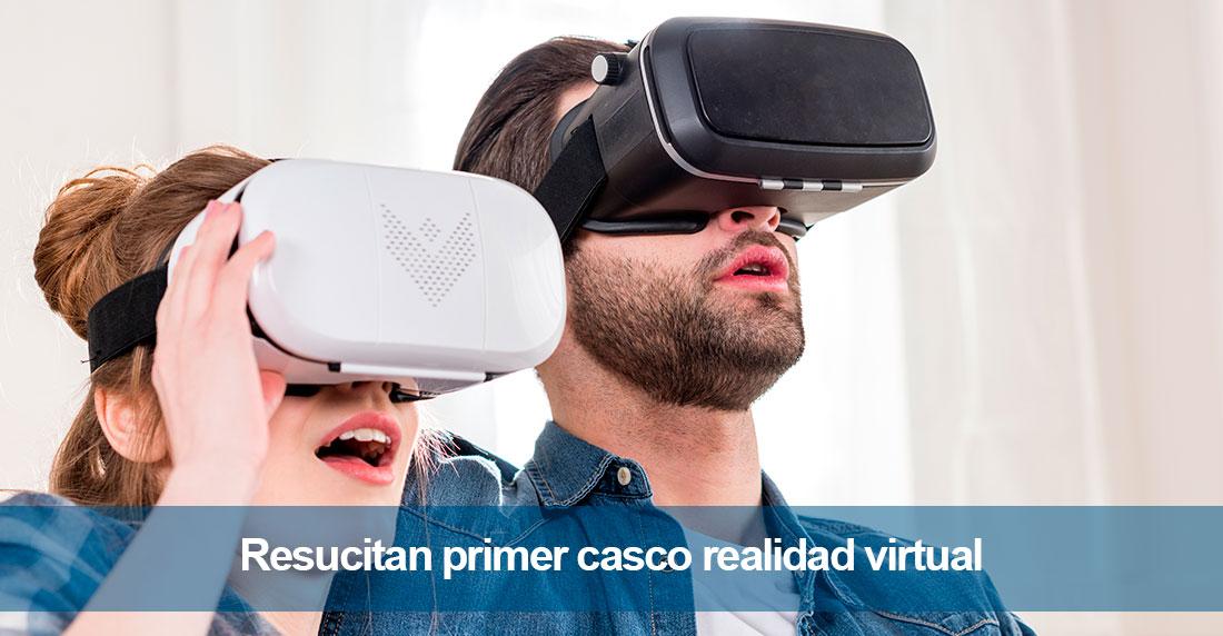 Resucitan primer casco realidad virtual