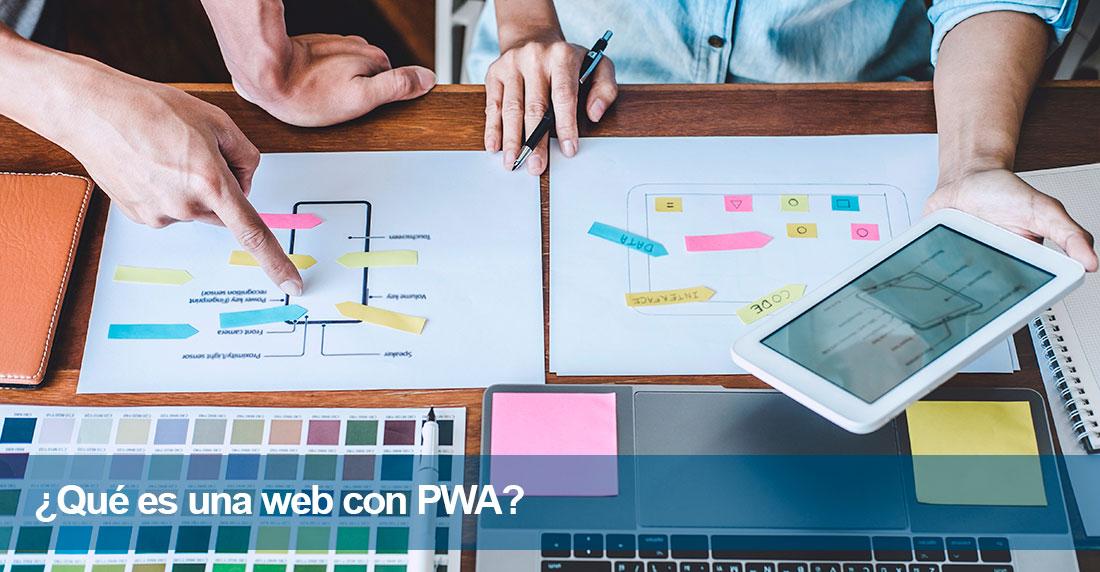 ¿Qué es una web con PWA?