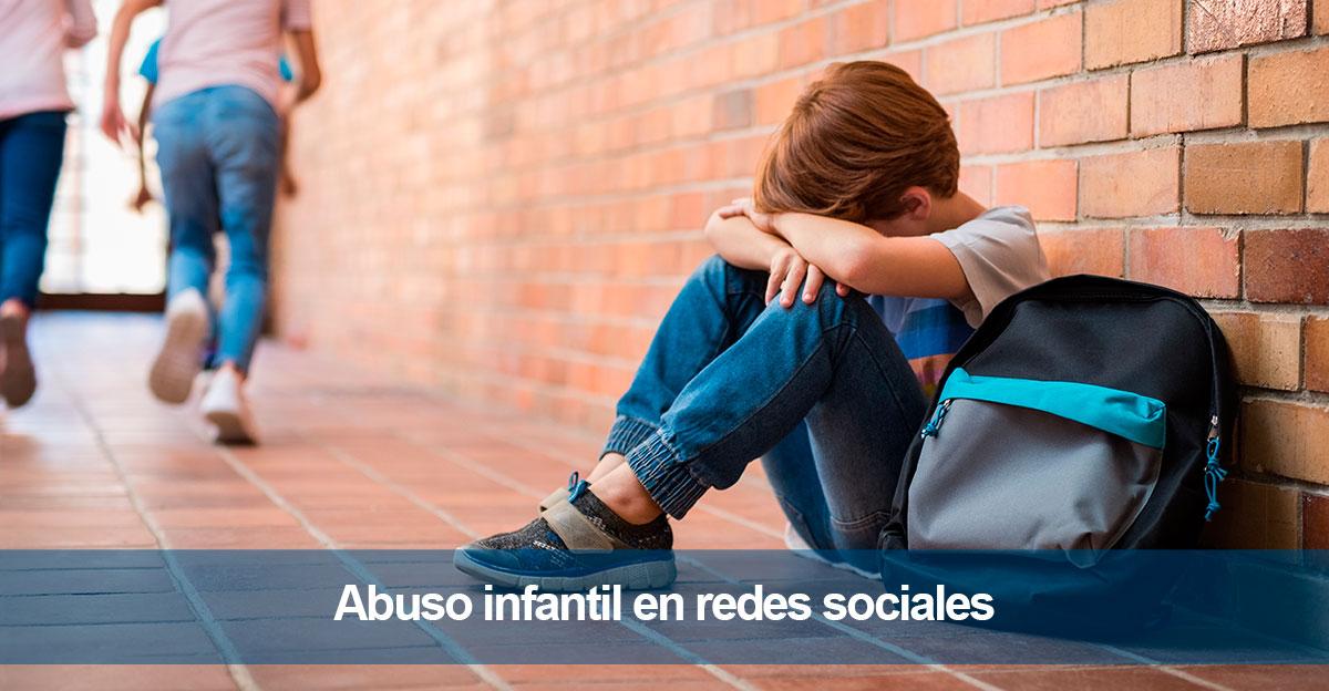 Abuso infantil. Desactivación de detección en redes sociales