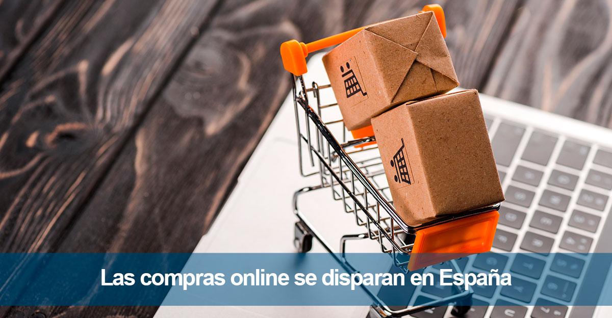 Las compras online se disparan en España