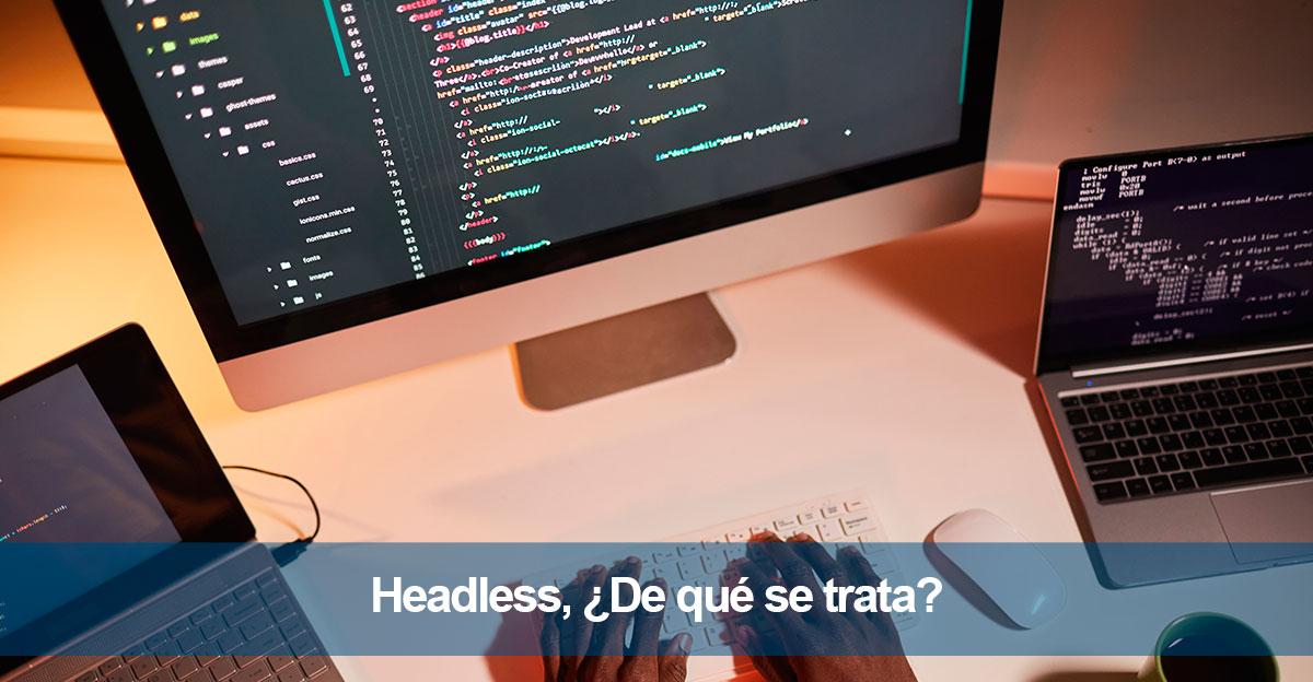 Headless, ¿De qué se trata?