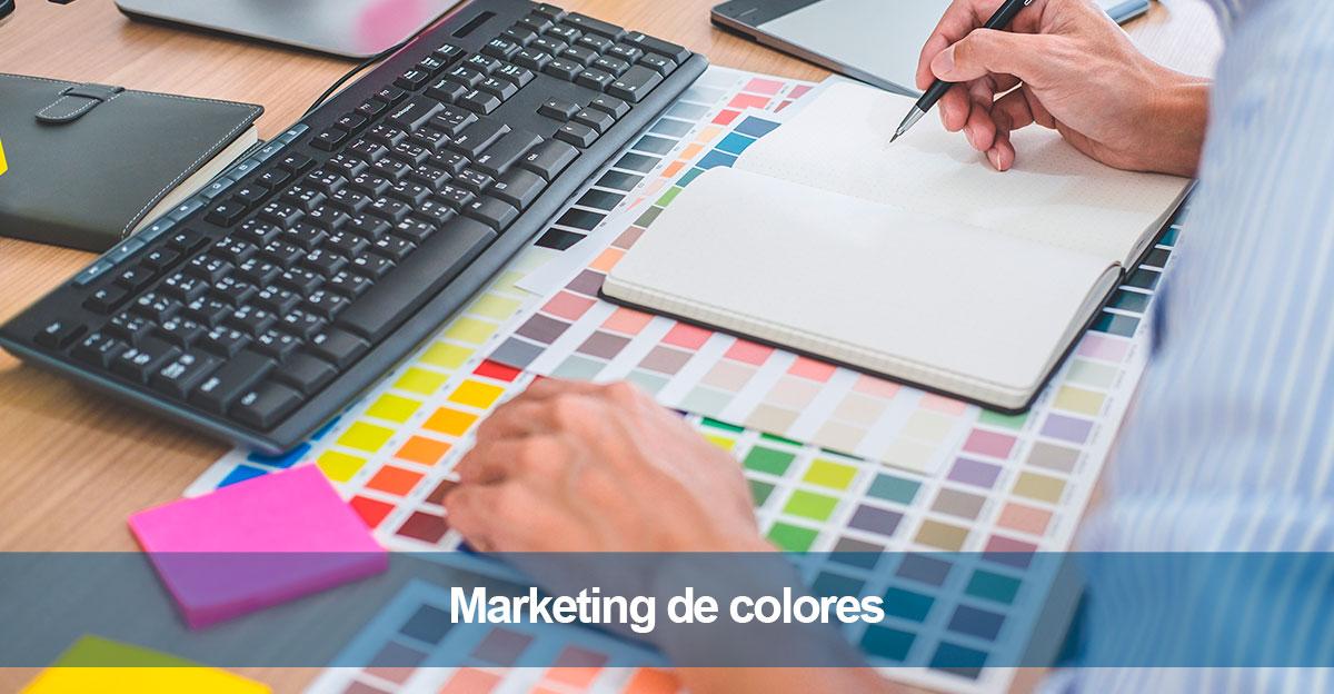Marketing de colores para campañas de publicidad