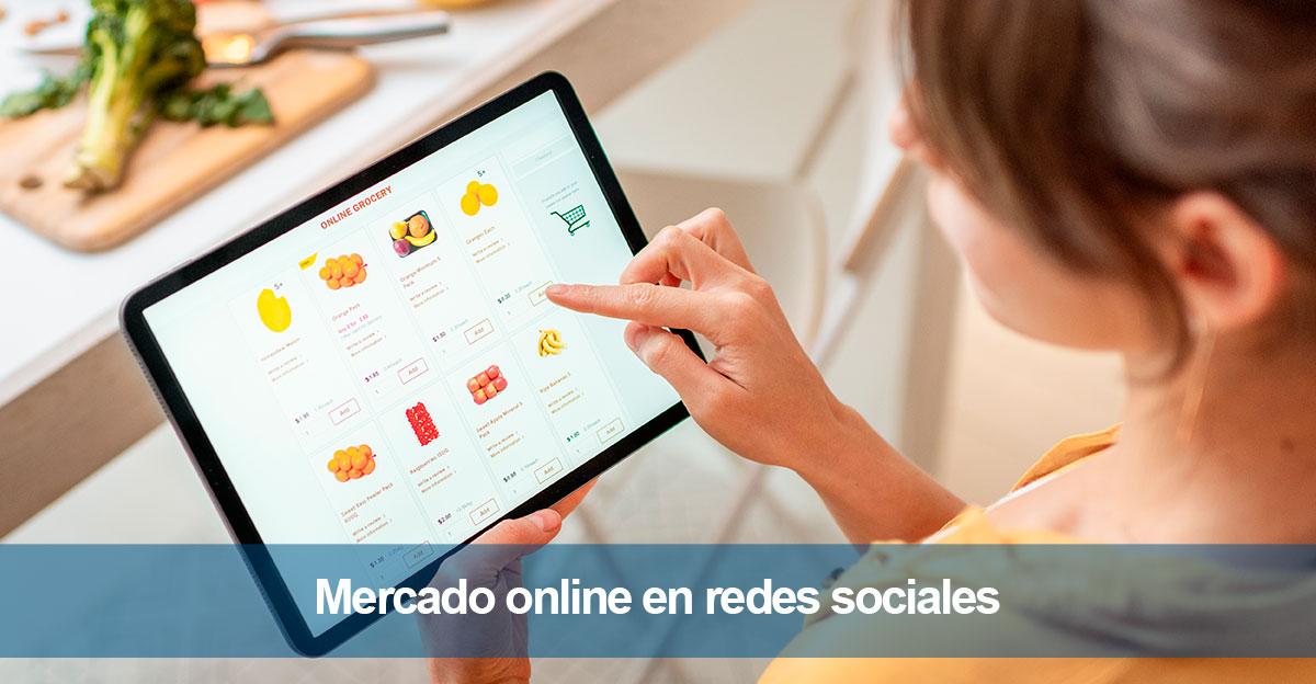 El mercado online en redes sociales
