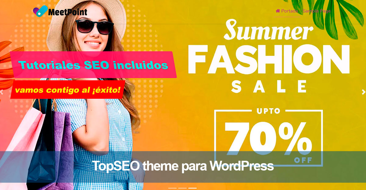 ¿Qué es TopSEO theme para WordPress?